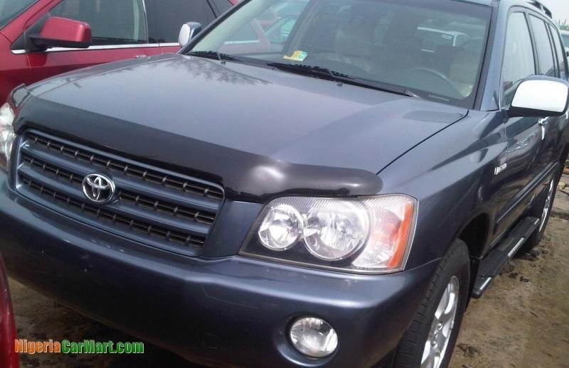 2002 Toyota Highlander Full Option Used Car For Sale In