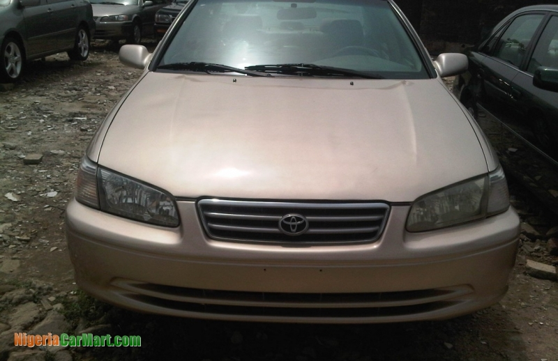 2001 toyota camry full option used car for sale in lagos nigeria nigeriacar. Black Bedroom Furniture Sets. Home Design Ideas
