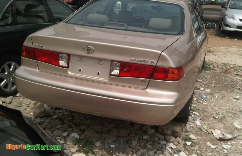 2001 Toyota Camry Full Option Used Car For Sale In Lagos