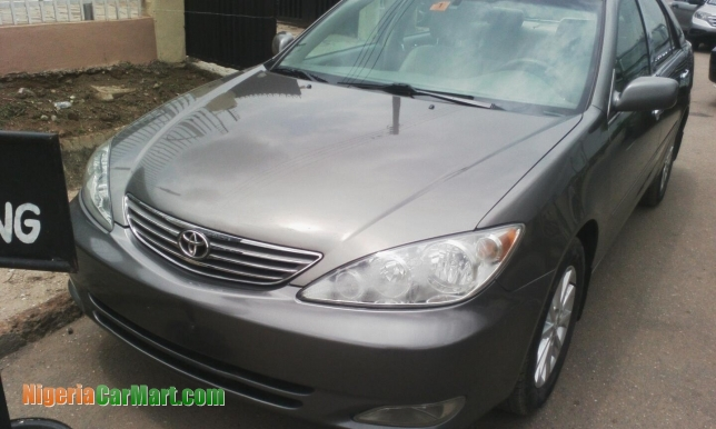 2006 toyota camry full option used car for sale in lagos nigeria nigeriacar. Black Bedroom Furniture Sets. Home Design Ideas