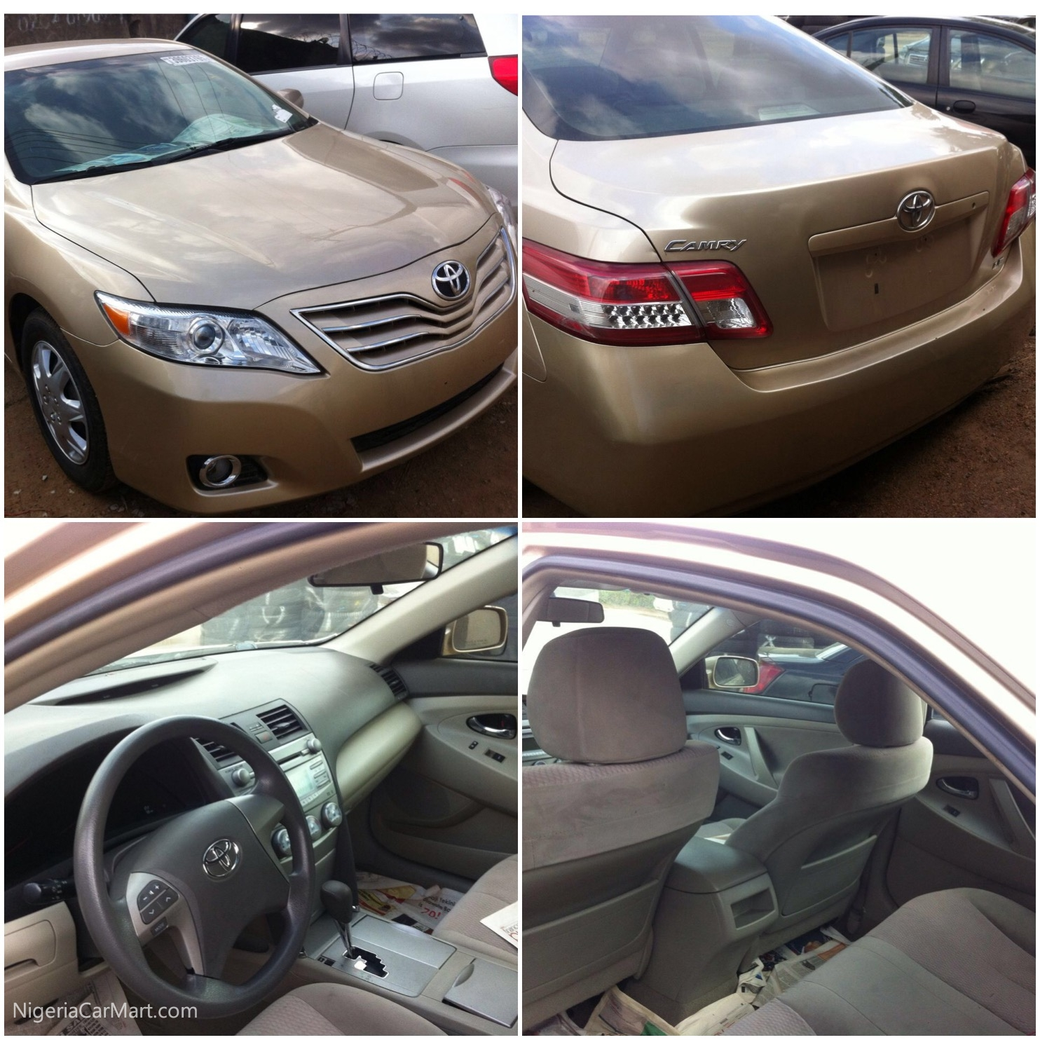 2010 Toyota Camry For Sale: 2010 Toyota Camry LE Used Car For Sale In Lagos Nigeria