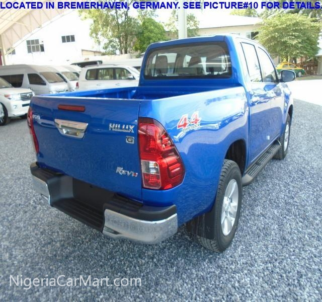 2016 Toyota Hilux 2016 TOYOTA HILUX Used Car For Sale In