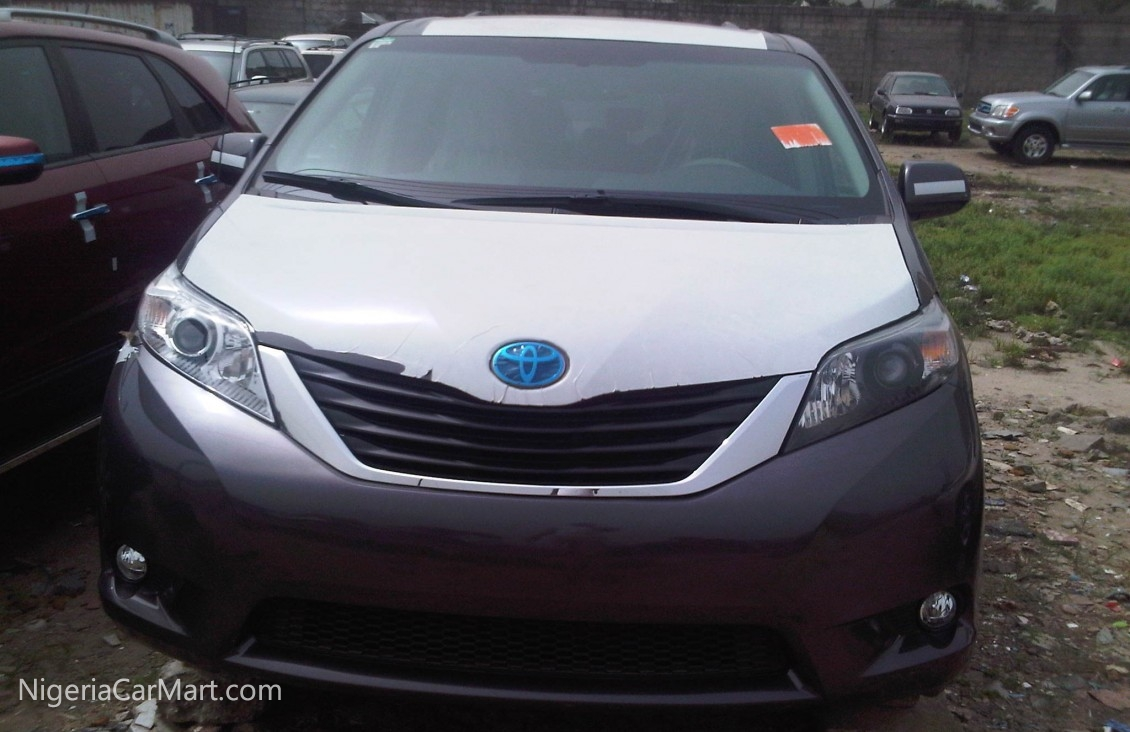2013 toyota sienna full option used car for sale in rivers nigeria. Black Bedroom Furniture Sets. Home Design Ideas
