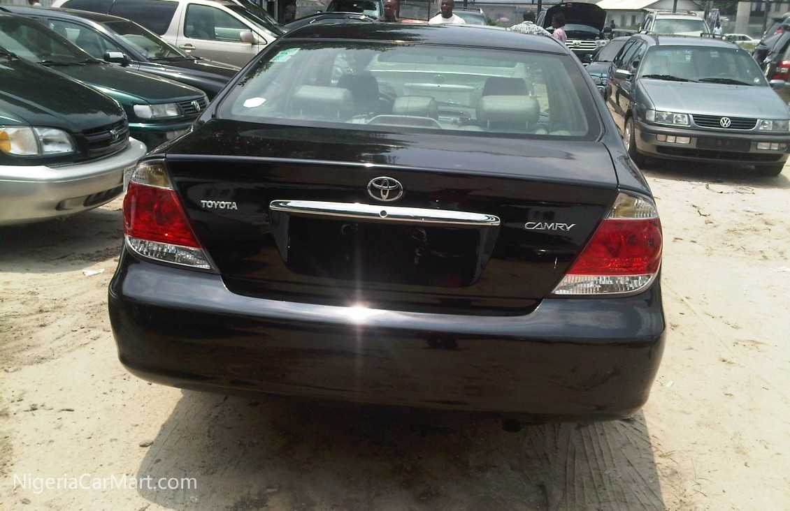 toyota camry 2006 price in nigeria 2006 toyota camry. Black Bedroom Furniture Sets. Home Design Ideas