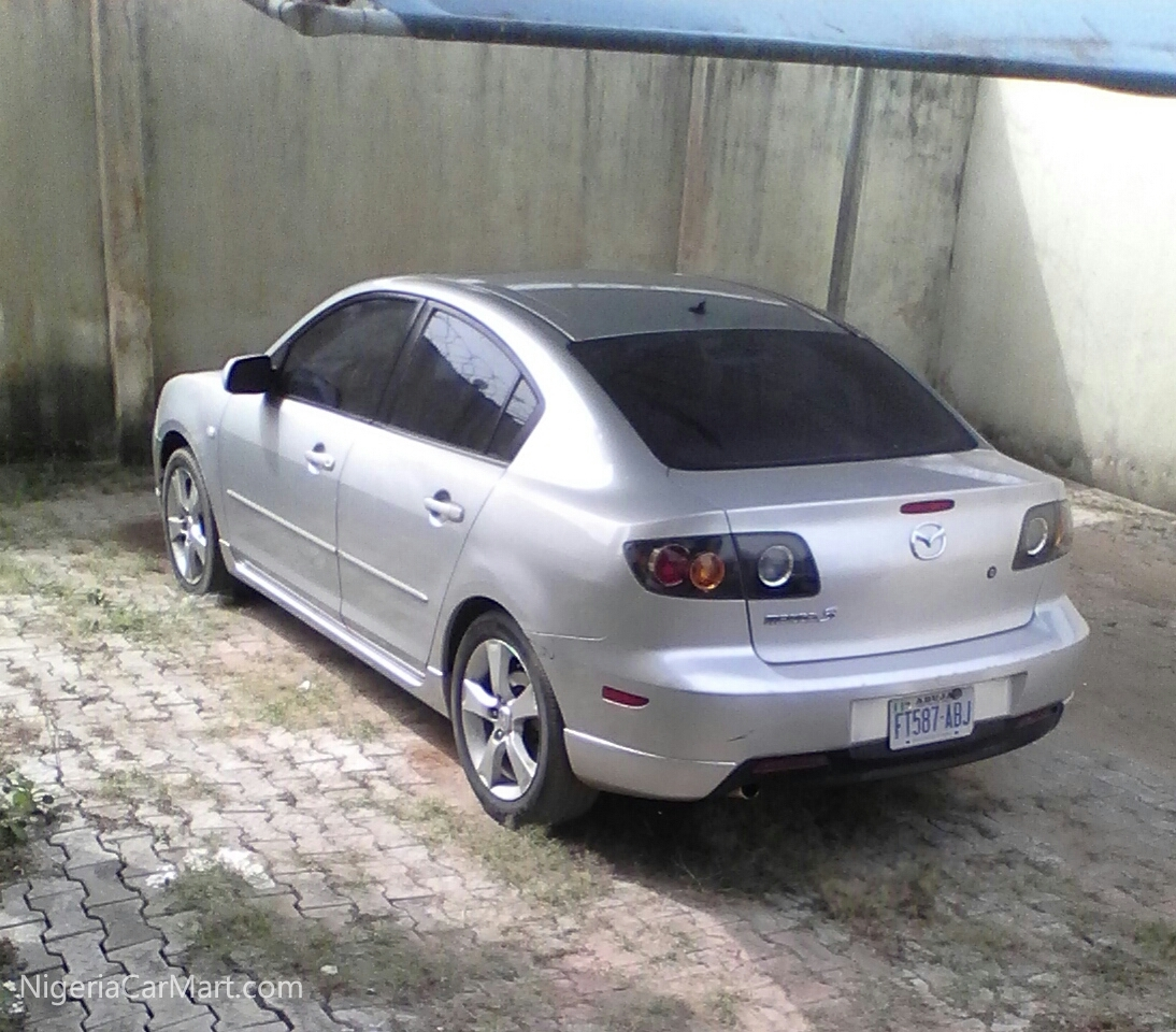 2004 mazda 3 sport used car for sale in lagos nigeria. Black Bedroom Furniture Sets. Home Design Ideas