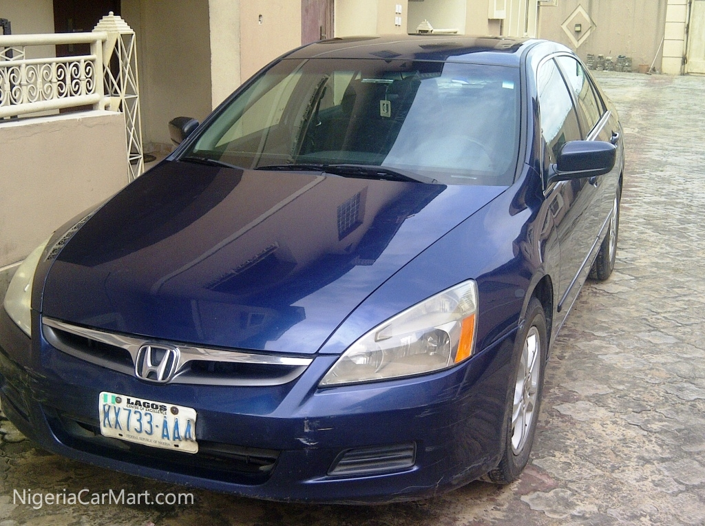 2006 honda accord used car for sale in lagos nigeria. Black Bedroom Furniture Sets. Home Design Ideas