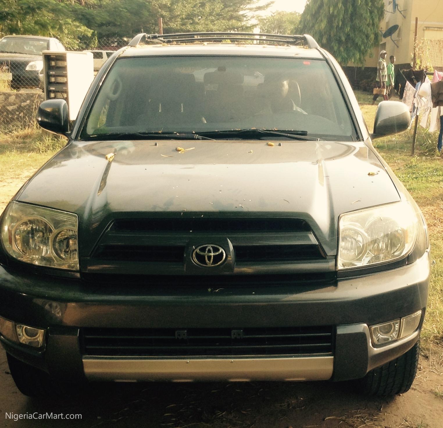 Used Toyota 4 Runner: 2006 Toyota Fortuner 4Runner Used Car For Sale In Abuja