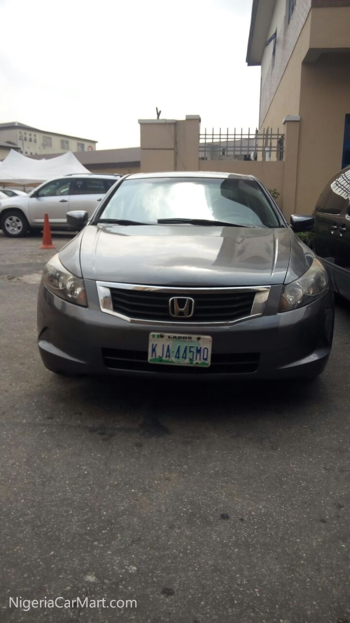 2008 honda accord ex used car for sale in lagos nigeria. Black Bedroom Furniture Sets. Home Design Ideas