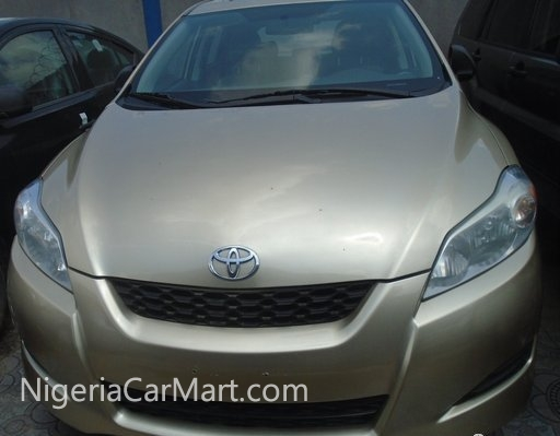2010 toyota matrix full option used car for sale in lagos nigeria. Black Bedroom Furniture Sets. Home Design Ideas