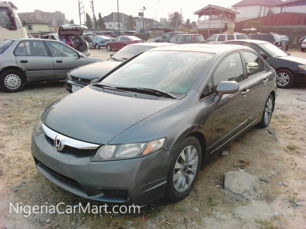 2009 honda civic full option used car for sale in lagos nigeria. Black Bedroom Furniture Sets. Home Design Ideas