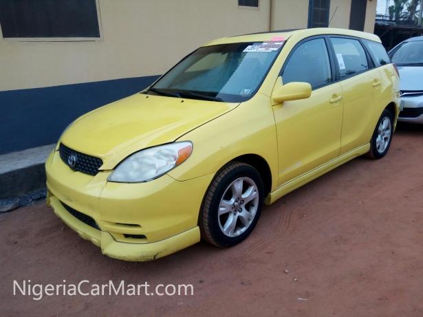2006 toyota matrix full option used car for sale in lagos nigeria. Black Bedroom Furniture Sets. Home Design Ideas