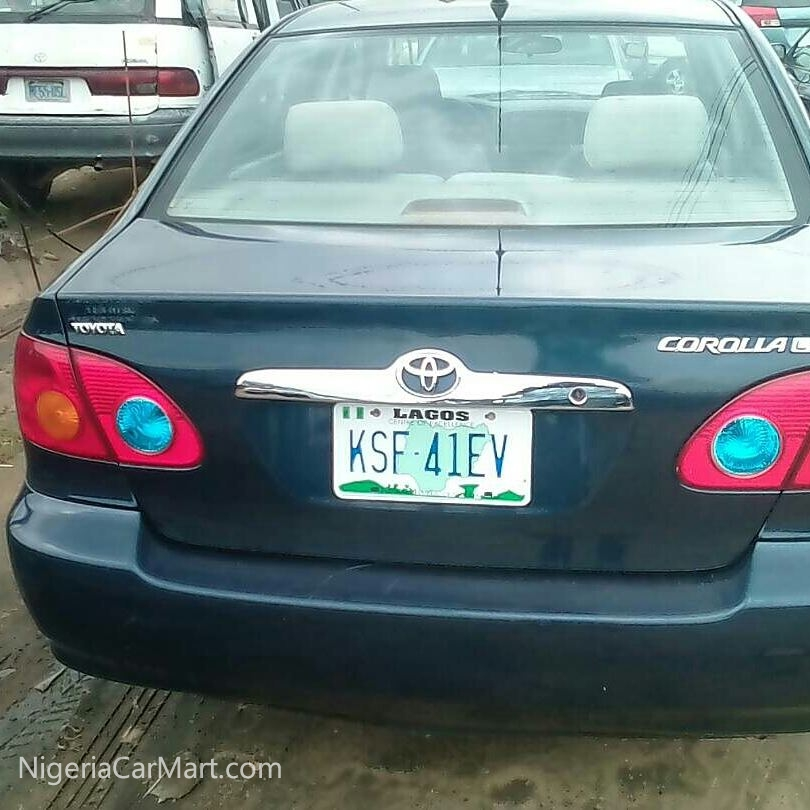 2004 Toyota Corolla Used Car For Sale In Rivers Nigeria